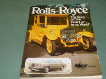 ROLLS ROYCE The Story Of The Best Car In The World (Pater Garnier 1977) AUTOCAR
